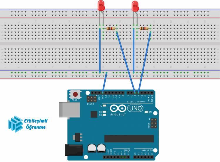 Unity C# - Arduino - Led Yakıp Söndürme