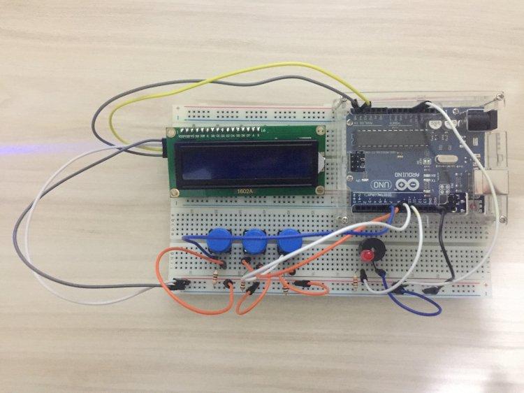 Arduino - Geri Sayım - Alarm Projesi