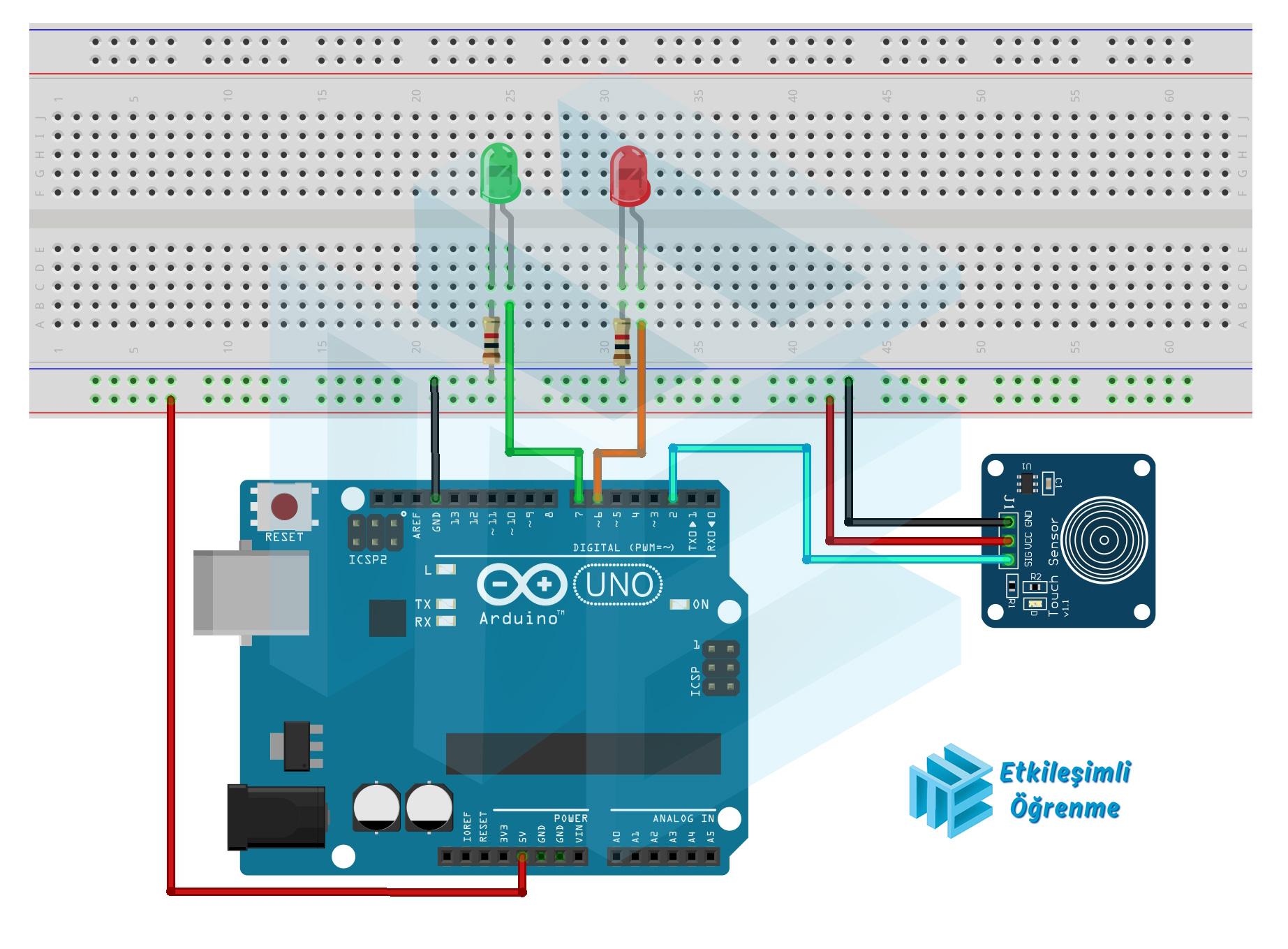 Dokunmatik Sensör Kullanımı